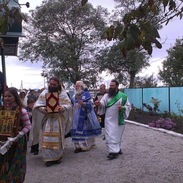 Храмовый праздник Покрова Пресвятой Богородицы в х. Новопокровском