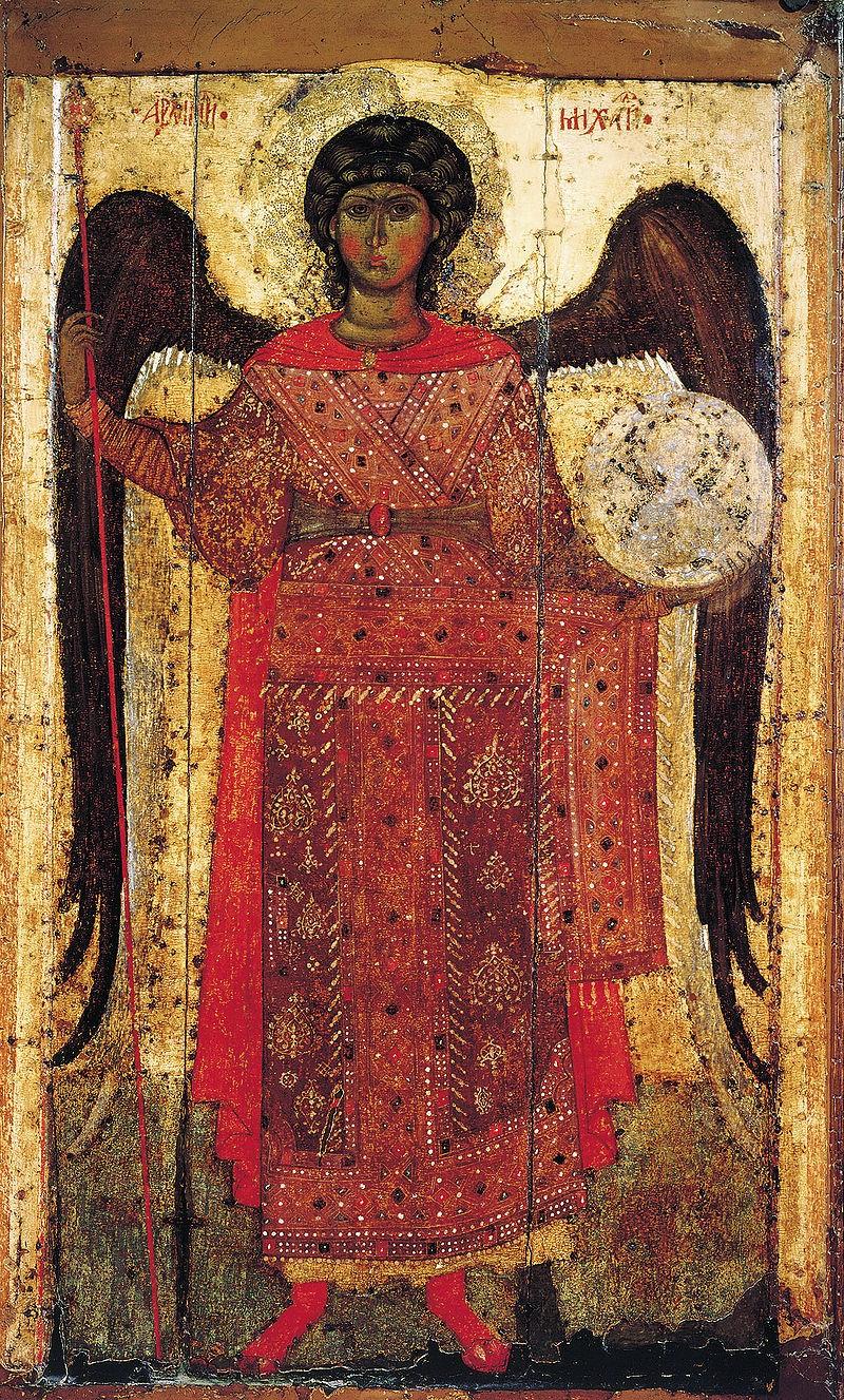 «Архангел Михаил» ок. 1300 года, Ярославль