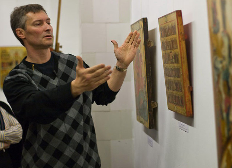 Евгений Ройзман организовал первый в стране частный музей икон в Екатеринбурге
