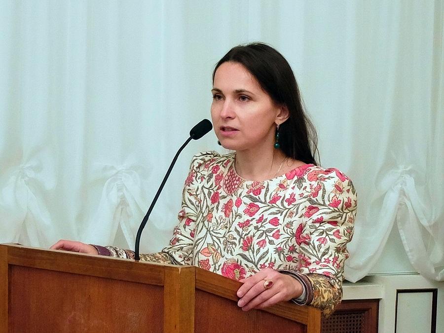 Генеральный директор кинофестиваля Юлия Леонова