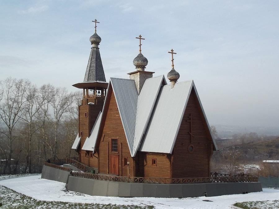 Старообрядческий храм в честь образа Богородицы Всем скорбящим радость в г. Новокузнецке Кемеровской области