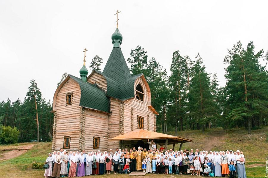 Старообрядческий храм иконы Пресвятой Богородицы Всем скорбящим радость в  г. Тольятти Самарской области