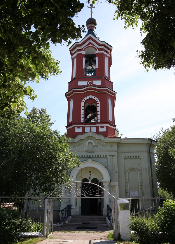 Старообрядческий Успенский храм (изначально в честь образа Божией Матери Всем скорбящим радость) в Рязани