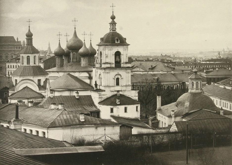 Вид на Златоустовский монастырь, 1882 год