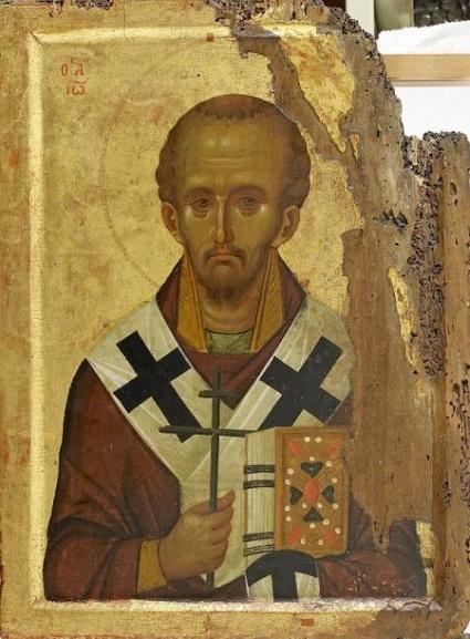 Святитель Иоанн Златоуст. XIII век, Византия. Афон
