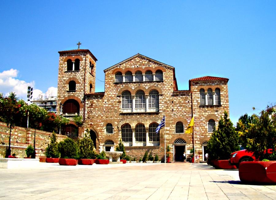 Фасад базилики святого Димитрия (313–323)