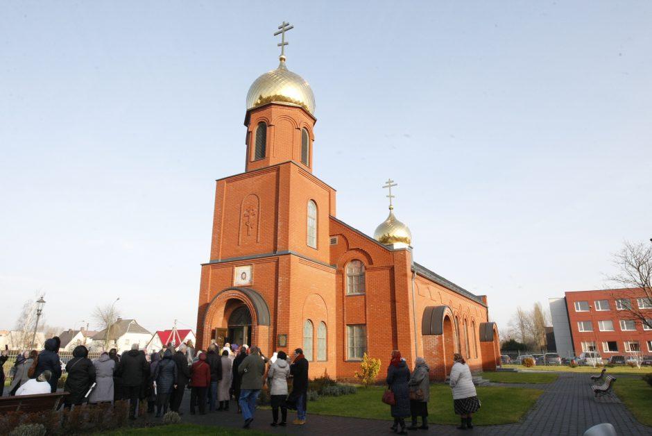 Свято-Успенско-Михайловский поморский храм в г. Клайпеде освящен 21 ноября 2015 года