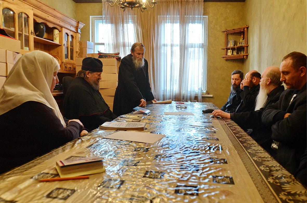 Поморские наставники и представители единоверческой общины
