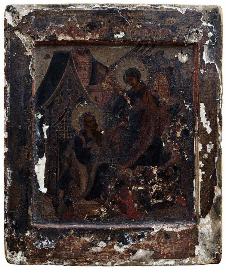 «Ангел выводит Апостола Петра из темницы». XVI-XVII вв.
