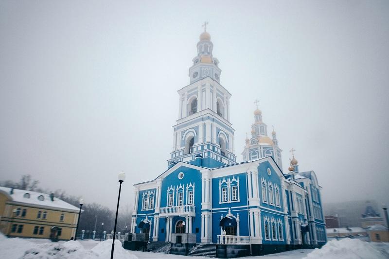 Спасо-Вознесенский кафедральный собор города Ульяновска
