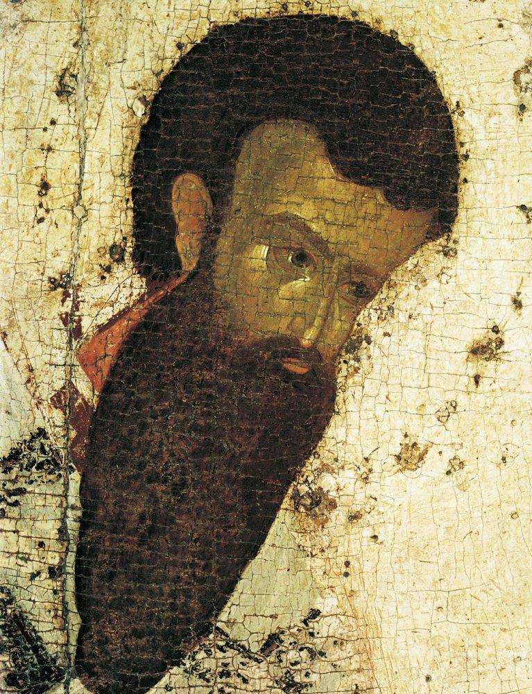 Святитель Василий Великий. Фрагмент. Изображение кисти Феофана Грека