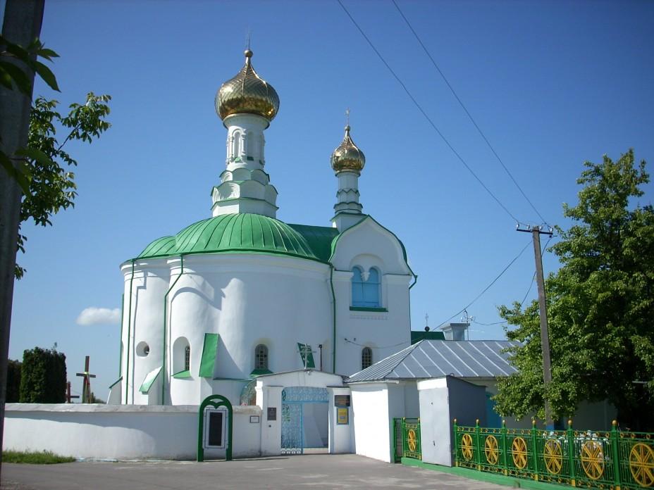 Храм во имя святителя Василия Великого в г. Владимир-Волынский (Украина)