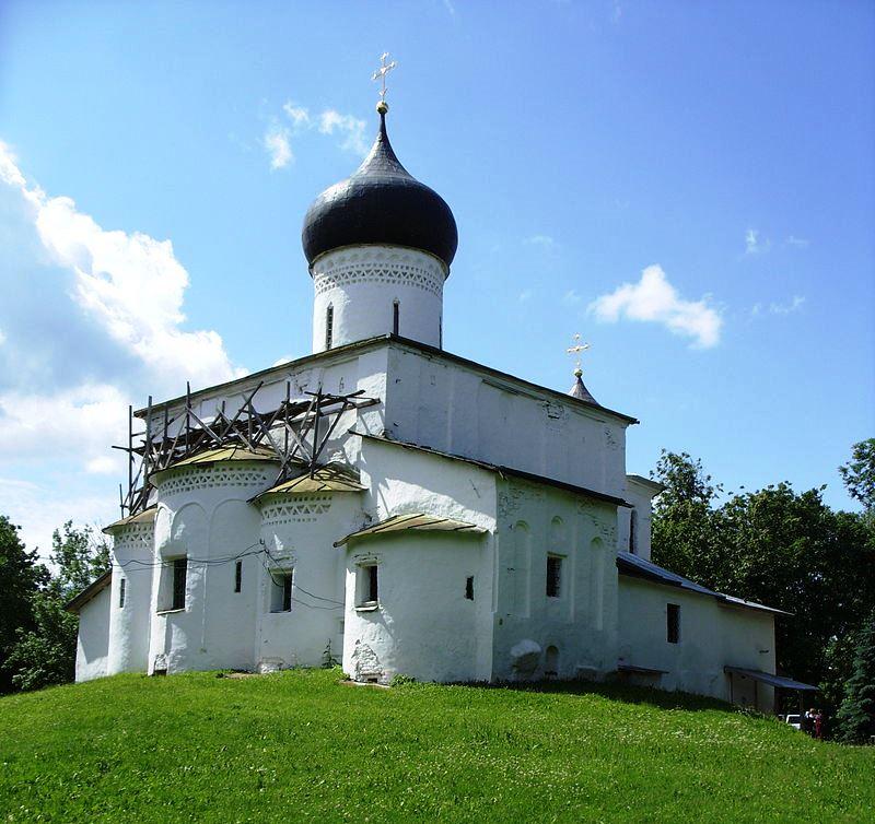 Храм во имя святителя Василия Великого на Горке. Псков (1413-1415 гг.)