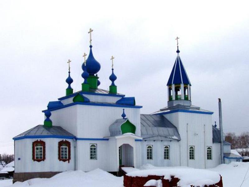 Старообрядческий храм во имя святителя Василия Великого в г. Соликамск