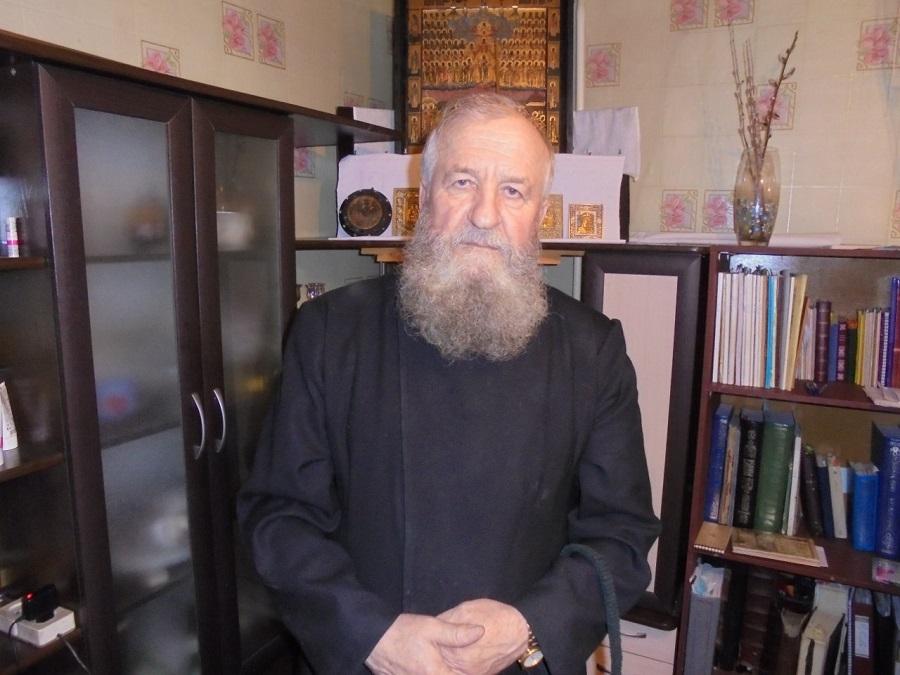 Духовный наставник Красноярской поморской общины о. Иоанн Иоаннович Корсаков