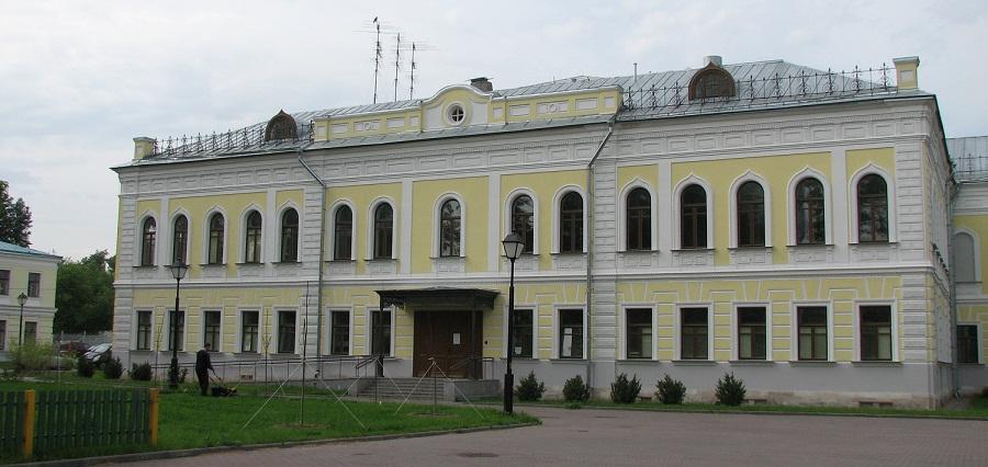 Дом церковного причта. Рогожская слобода