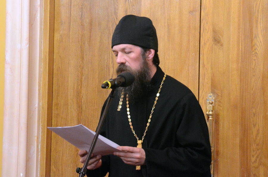 Иерей Евгений Саранча на Рождественских чтениях