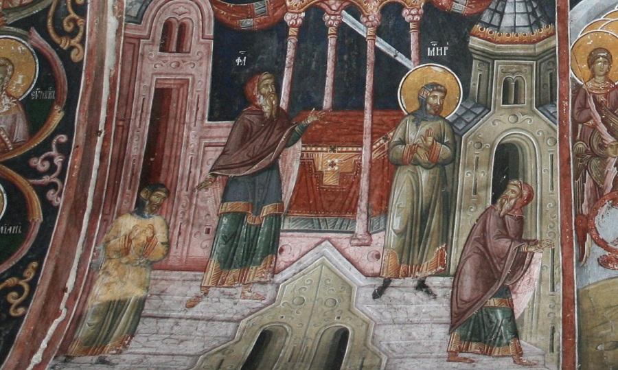 Притча о мытаре и фарисее. Балканы
