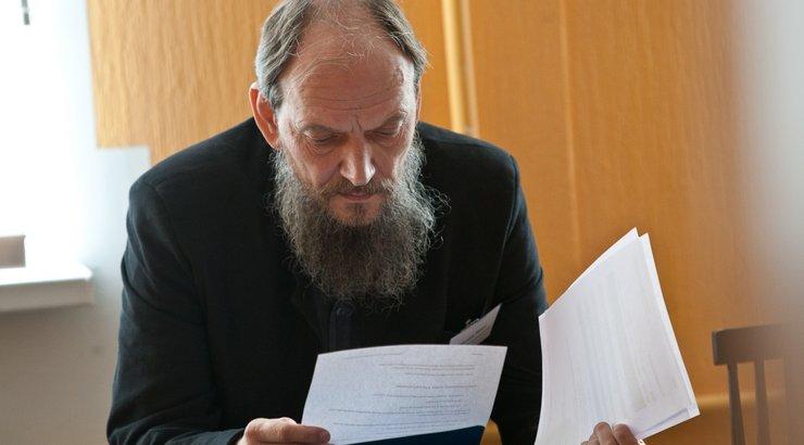 Лидер эстонских староверов Павел Варунин