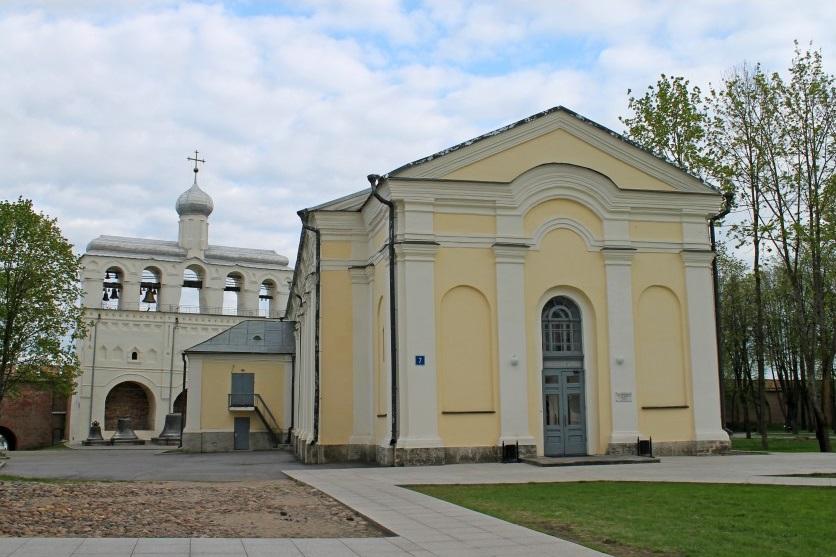 Здание храма в честь Входа Господня в Иерусалим в Великом Новгороде