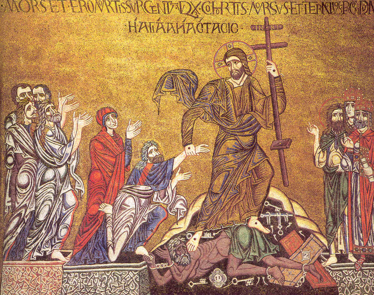 Сошествие во ад. Венеция, собор Святого Марка, XI в.