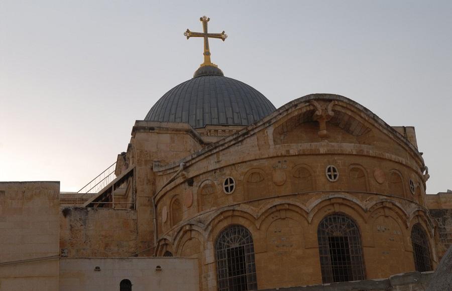 Иерусалимский храм Воскресения Христова. 325-326 гг.
