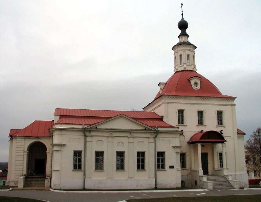 Храм Воскресения Словущего (РПЦ). Коломна