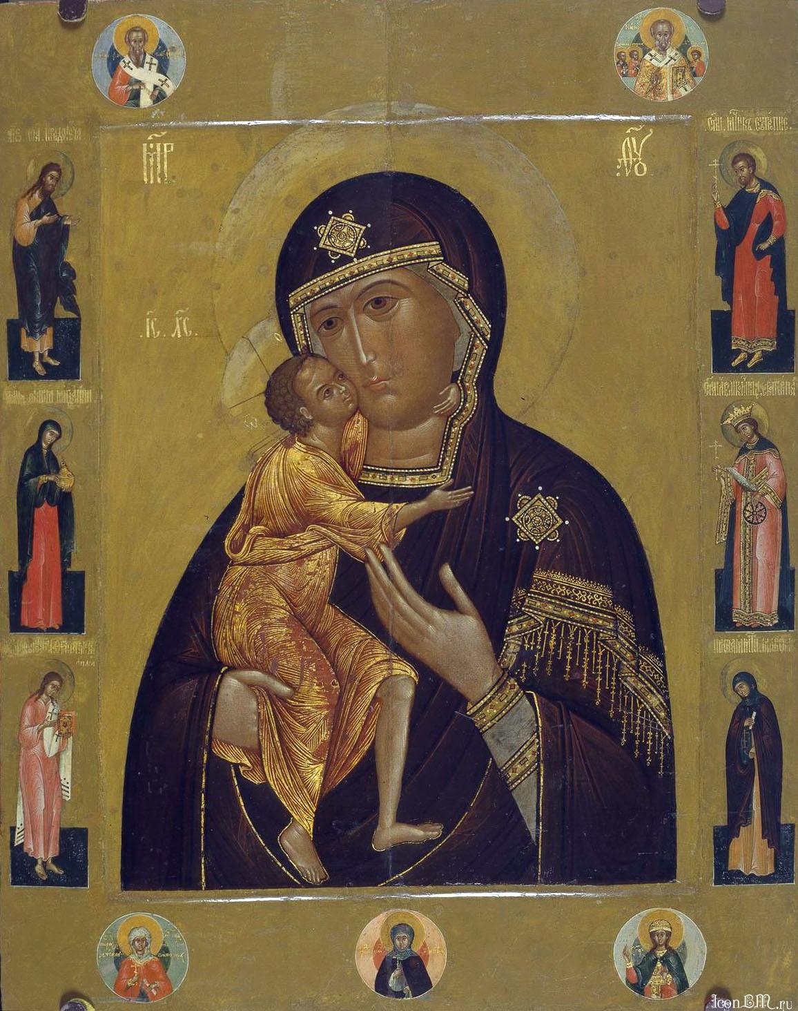 Картинки по запросу феодоровская икона божией матери картинки