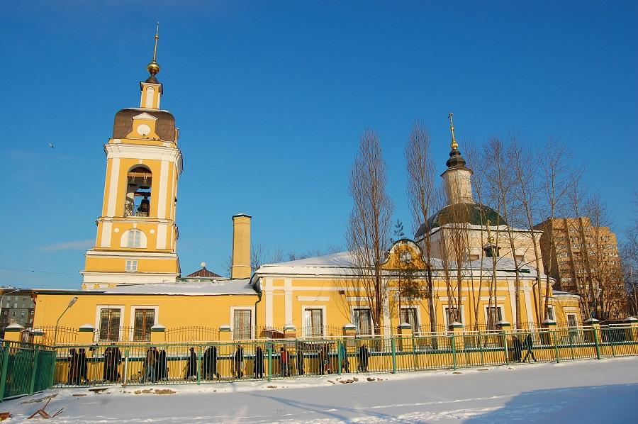 Церковь Сорока Мучеников Севастийских у Новоспасского монастыря. Москва