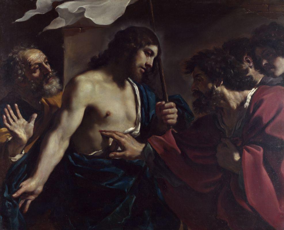Неверие Святого Фомы. Гверчино. Пинакотека. Ватикан