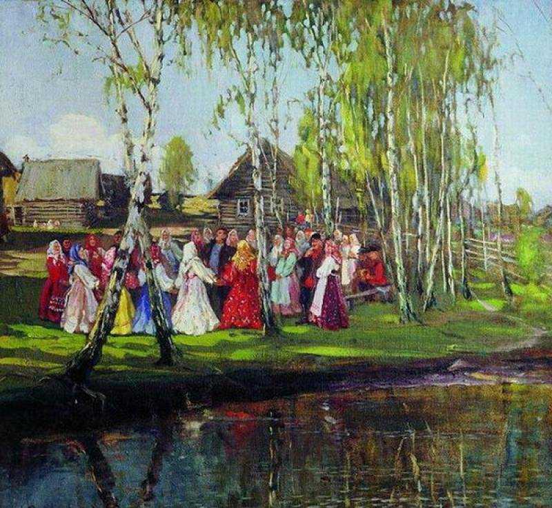 М. Боскин. «Хоровод», 1910 г.