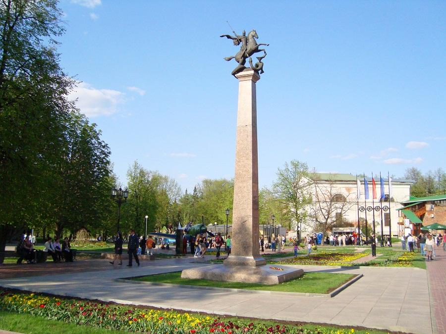 Памятник Георгию Победоносцу. Нижний Новгород