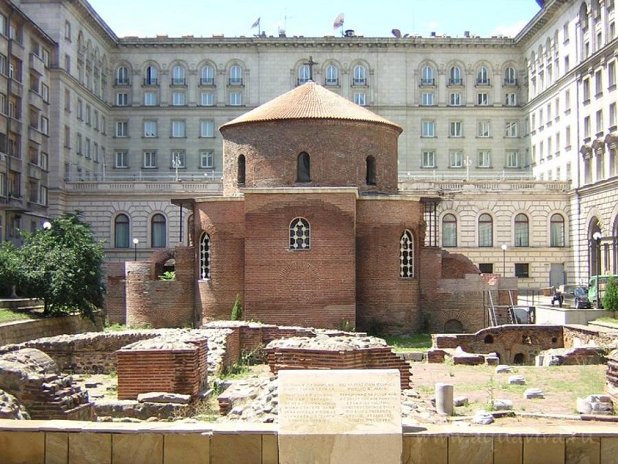 Ротонда Святого Георгия. Вид на алтарную часть