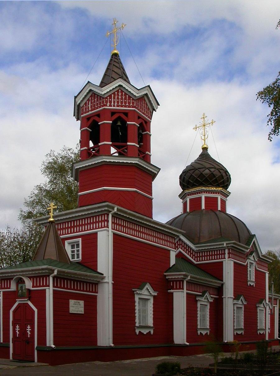 Георгиевская церковь в Ивантеевке