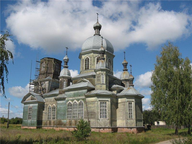Старообрядческий храм (РДЦ)  во имя великомученика Георгия в с. Елионка