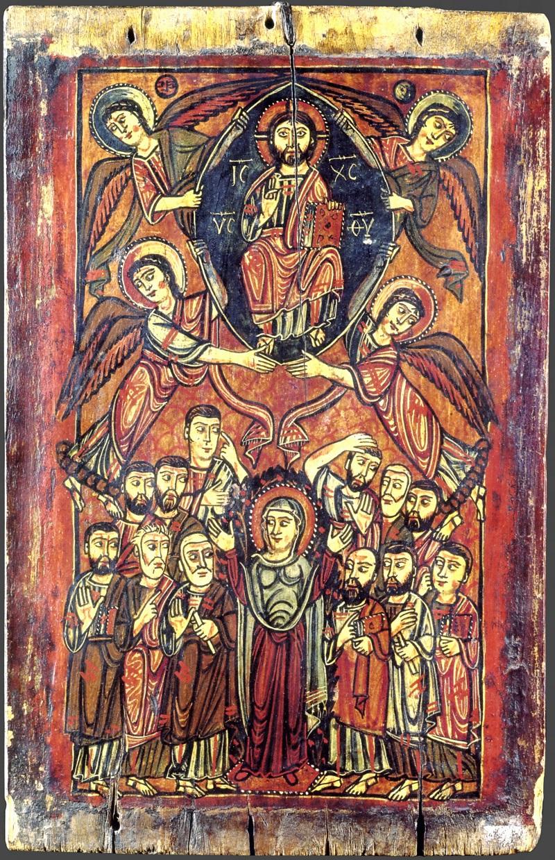 Византийская икона. VIII-IX в. Монастырь св. Екатерины, Синай, Египет