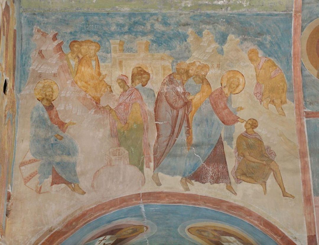 Исцеление слепого. Дионисий, Ферапонтов монастырь