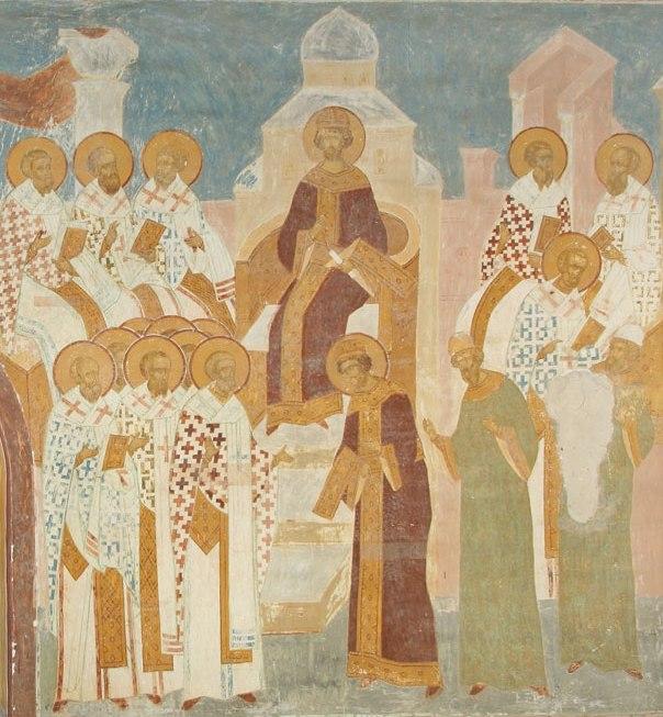 Первый Вселенский Собор. Дионисий. Собор Рождества Богородицы Ферапонтова монастыря