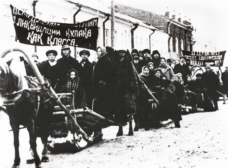 Высылка раскулаченных крестьян в Сибирь