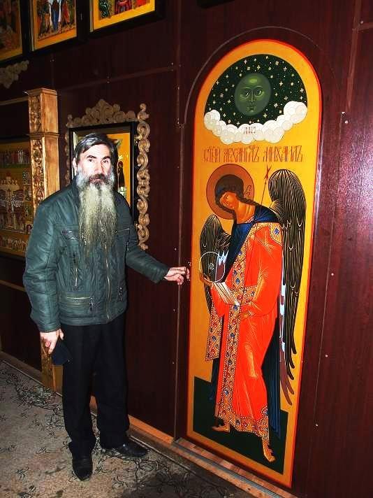 Наставник Йошкар-Олинской общины, иконописец Сергий Иванцов
