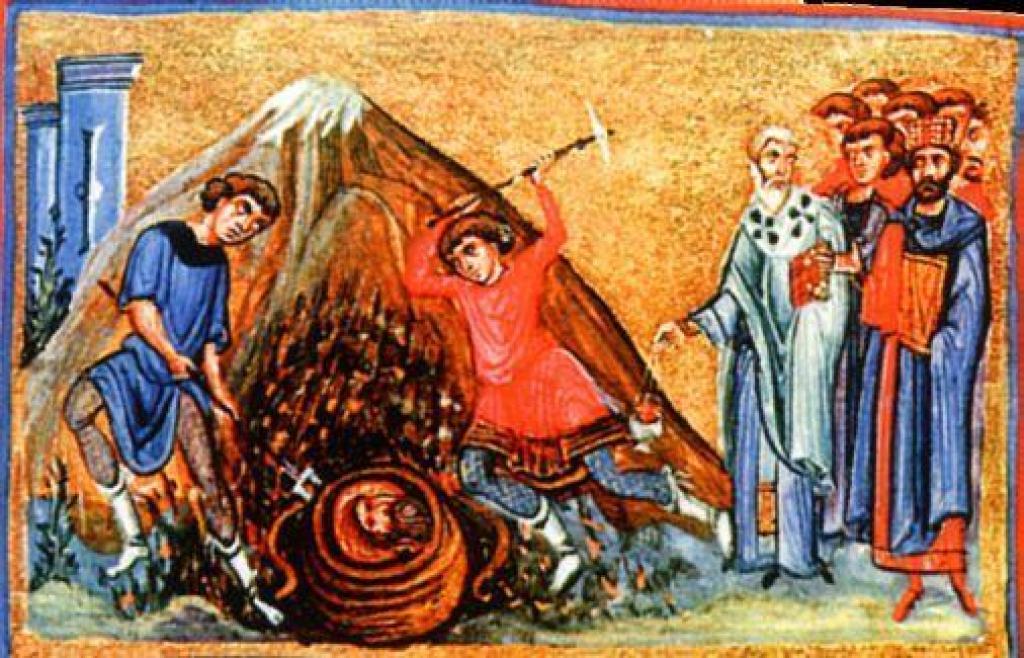 Третье обретение главы святого Иоанна Предотечи