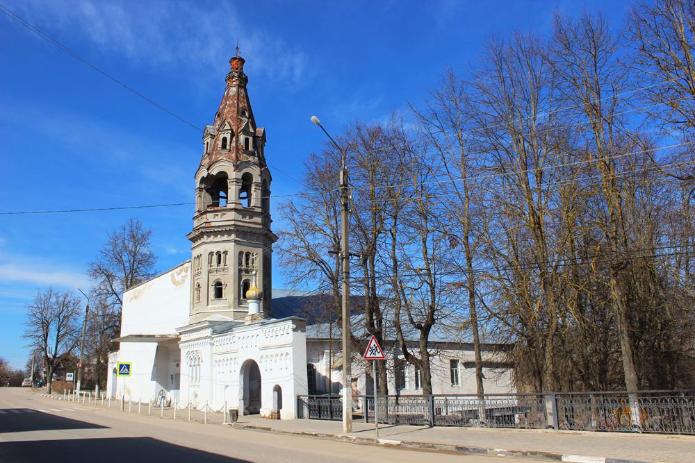 Здание бывшего старообрядческого Всехсвятского храма в Боровске