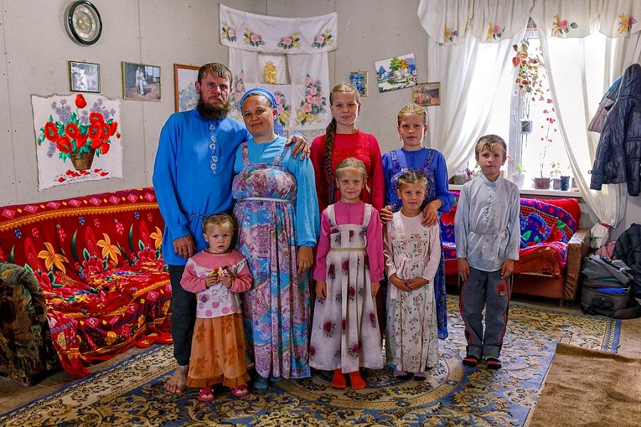 Староверы Дерсу. Семья Мурачевых