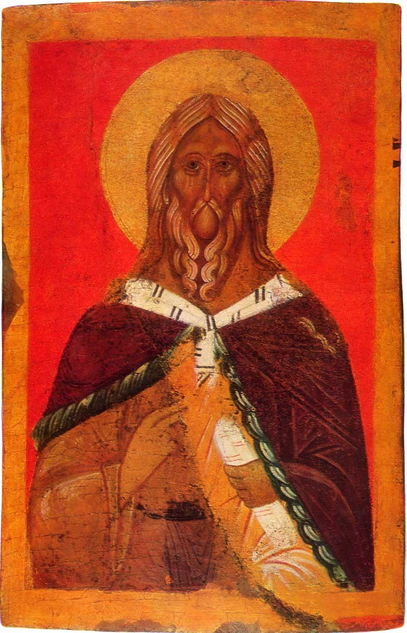 Илия Пророк. Первая половина — середина XV в. Музей изобразительных искусств Республики Карелия, Петрозаводск