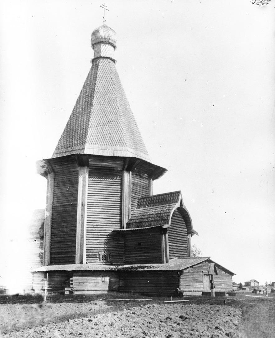 Ильинская церковь на погосте Выя