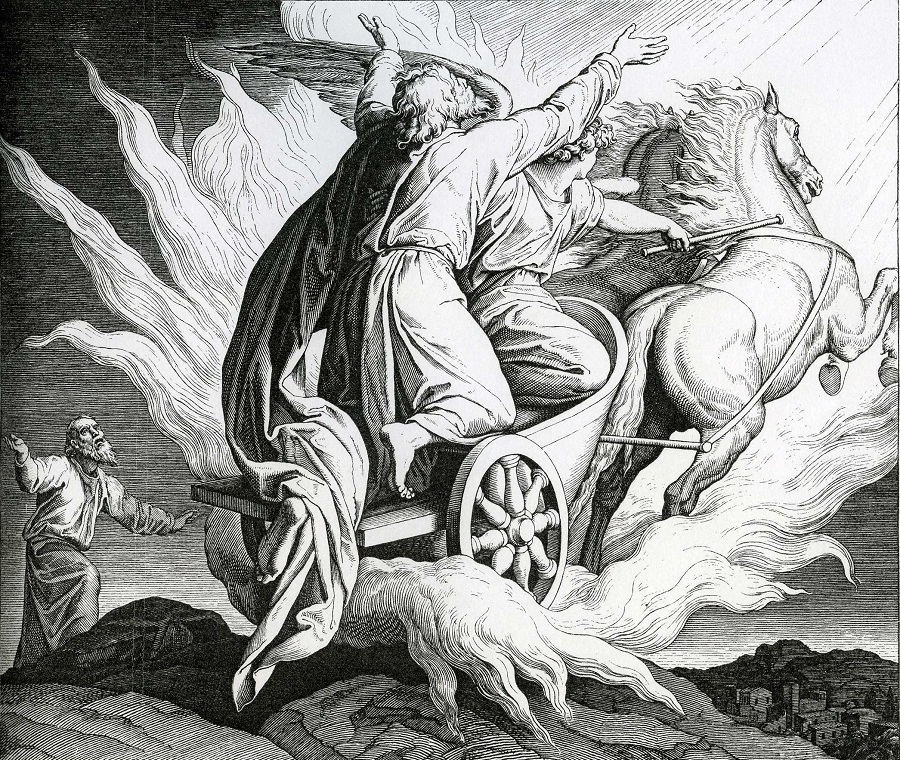 Вознесение пророка Илии. Юлиус Шнорр фон Карольсфельд. Ок. 1852–1860 гг.