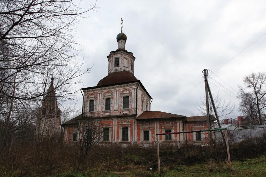 Церковь Сретения Владимирской иконы Божией Матери (холодная). Вологда
