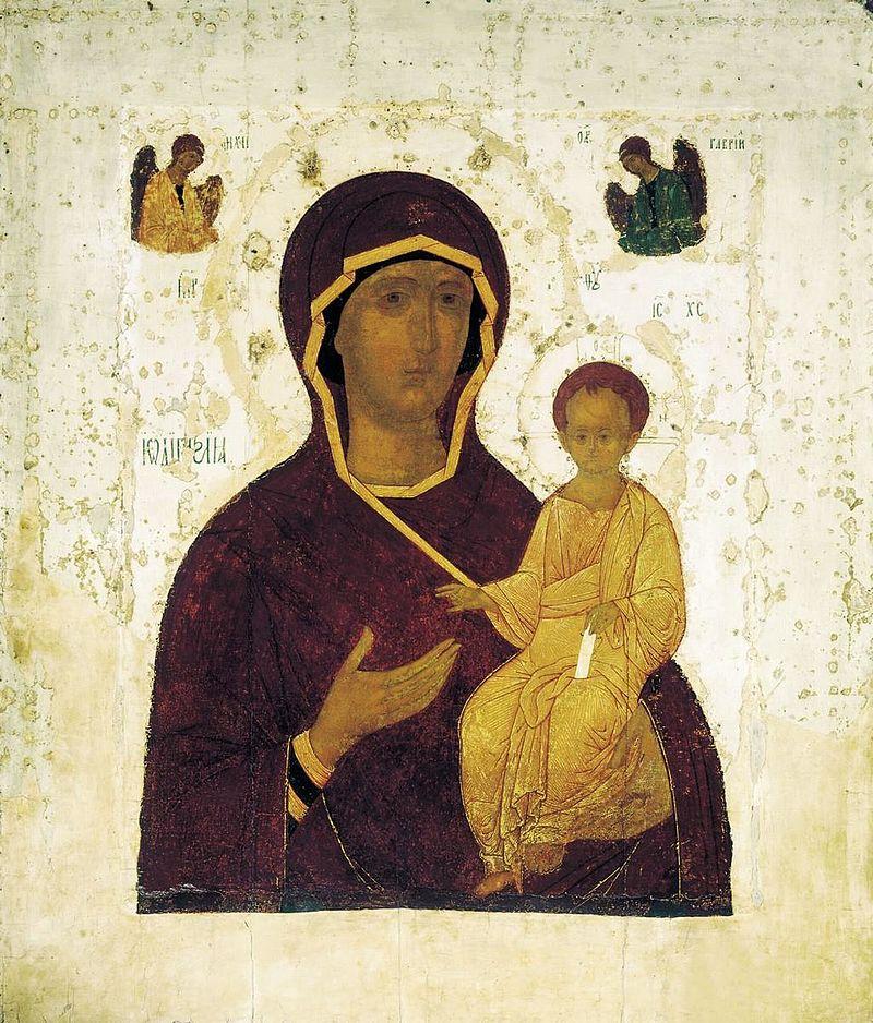 Смоленская икона Богородицы. Дионисий, 1482 год
