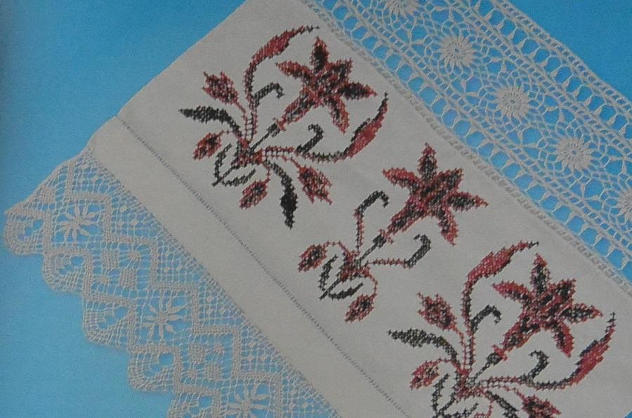Посылальное полотенце. Коллекция А.И. Юкш-Меос