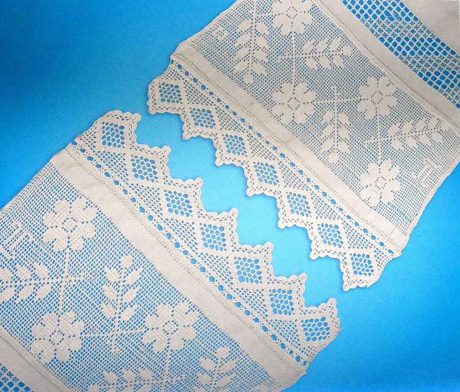 Край венчального полотенца. Коллекция А.И. Юкш-Меос